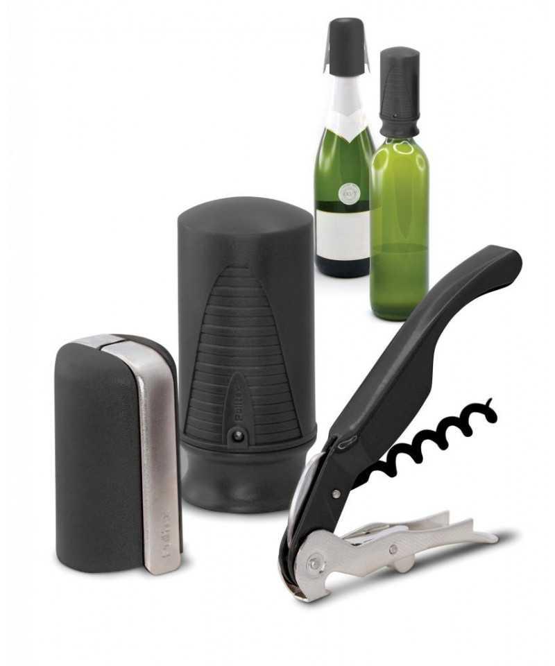 Set starter 3 accesorii negre-LIFE STYLE TIPS SRL