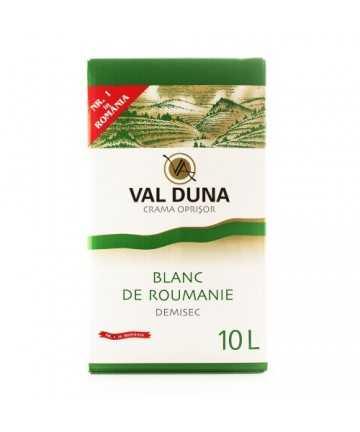 Val Duna Blanc de Roumanie 10 L - Crama Oprisor