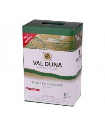 Val Duna Blanc de Roumanie 3 L - Crama Oprisor
