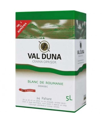 Val Duna Blanc de Roumanie 5 L - Crama Oprisor