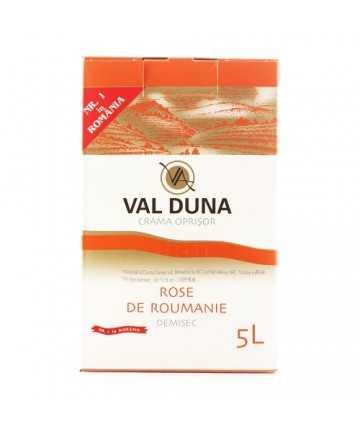 Val Duna Rose de Roumanie 5 L - Crama Oprisor