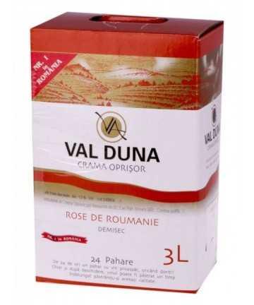Val Duna Rose de Roumanie 3 L - Crama Oprisor