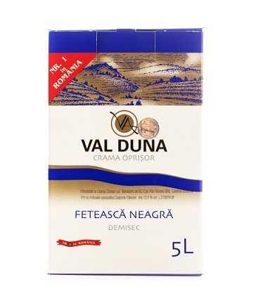Val Duna Feteasca Neagra 5 L - Crama Oprisor