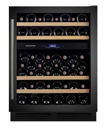 Racitor vinuri incorporabil sub blat DX-53.130DBK/DP