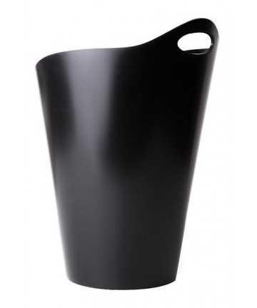 Frapiera plastic neagra cu toarta