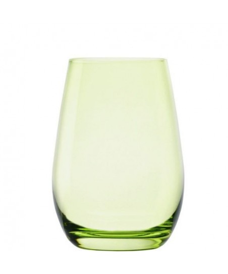 Set 6 pahare pentru apa, verde- ELEMENTS