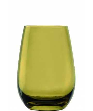 Set 6 pahare pentru apa, olive- ELEMENTS