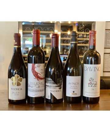 Pachet 5 vinuri rosii