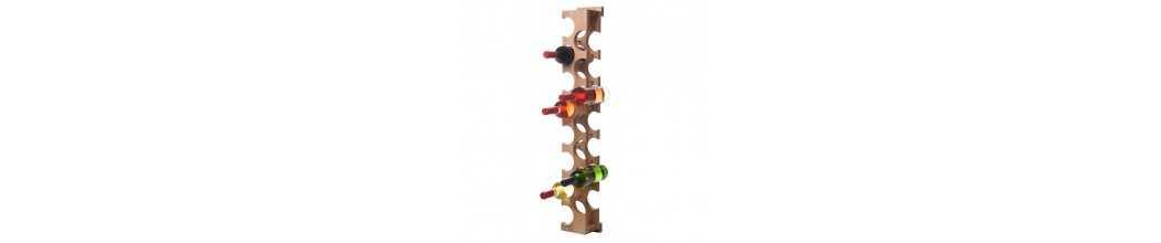 Rastele din lemn pentru vin