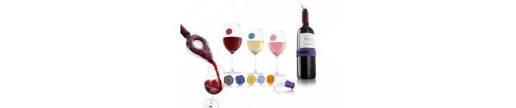 Seturi pentru vin, set accesorii pentru vin